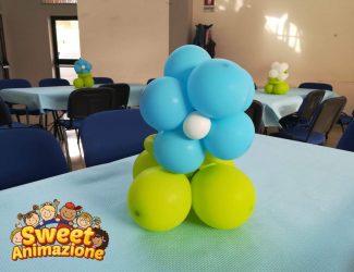 palloncini a fiore