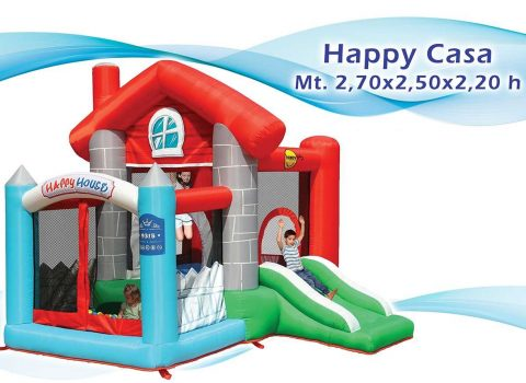 gonfiabile happy casa