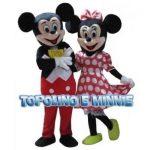 mascotte topolino e minnie