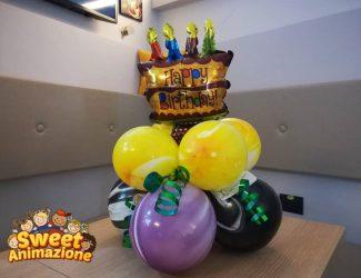 centro tavolo compleanno