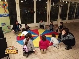 gioco per bambini paracadute ludico
